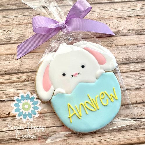XL personalized bunny