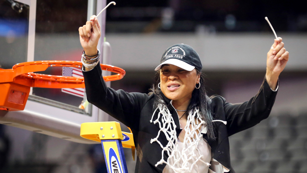 Dawn Staley_USC National Champs 2017