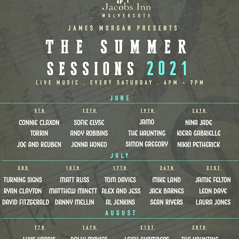 Live music at Jacobs Inn