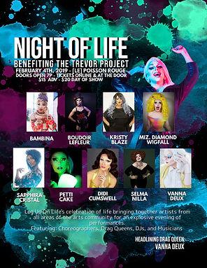 Night Of Life Queen Announcement Winter