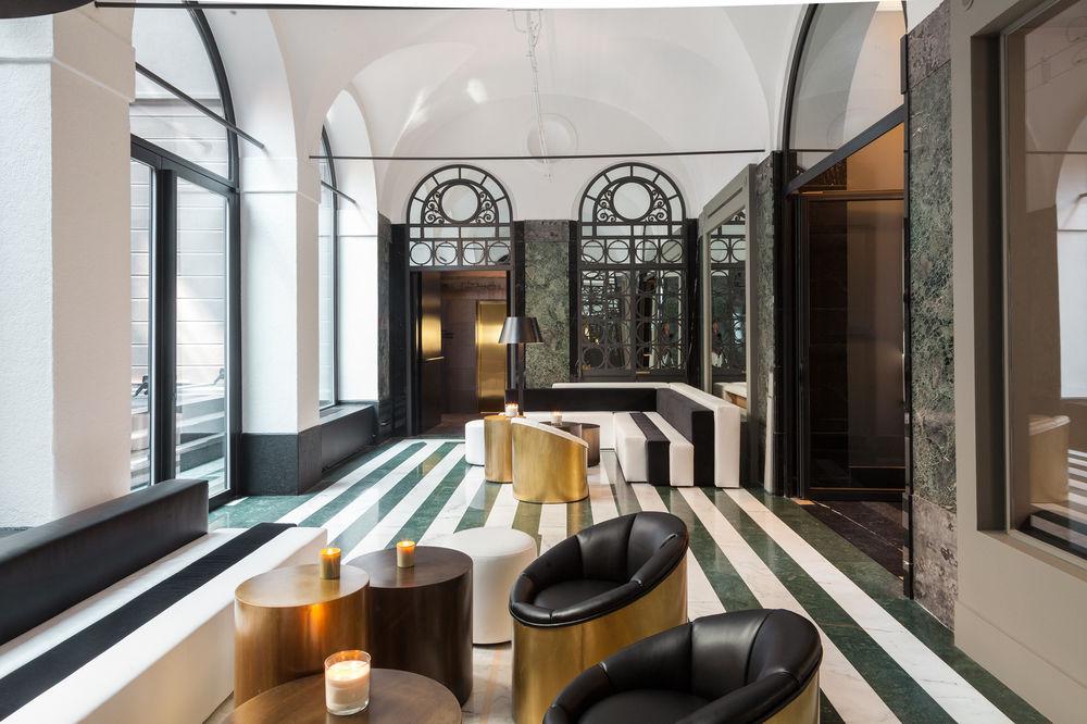 Hotel a Milano - pavimento in marmo
