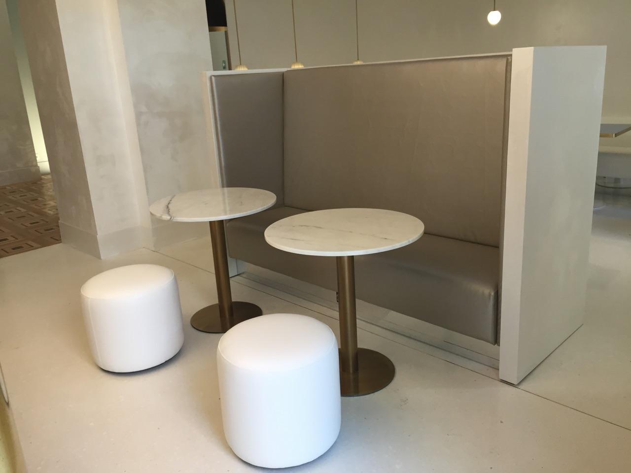 Tavolini marmo bianco carrara