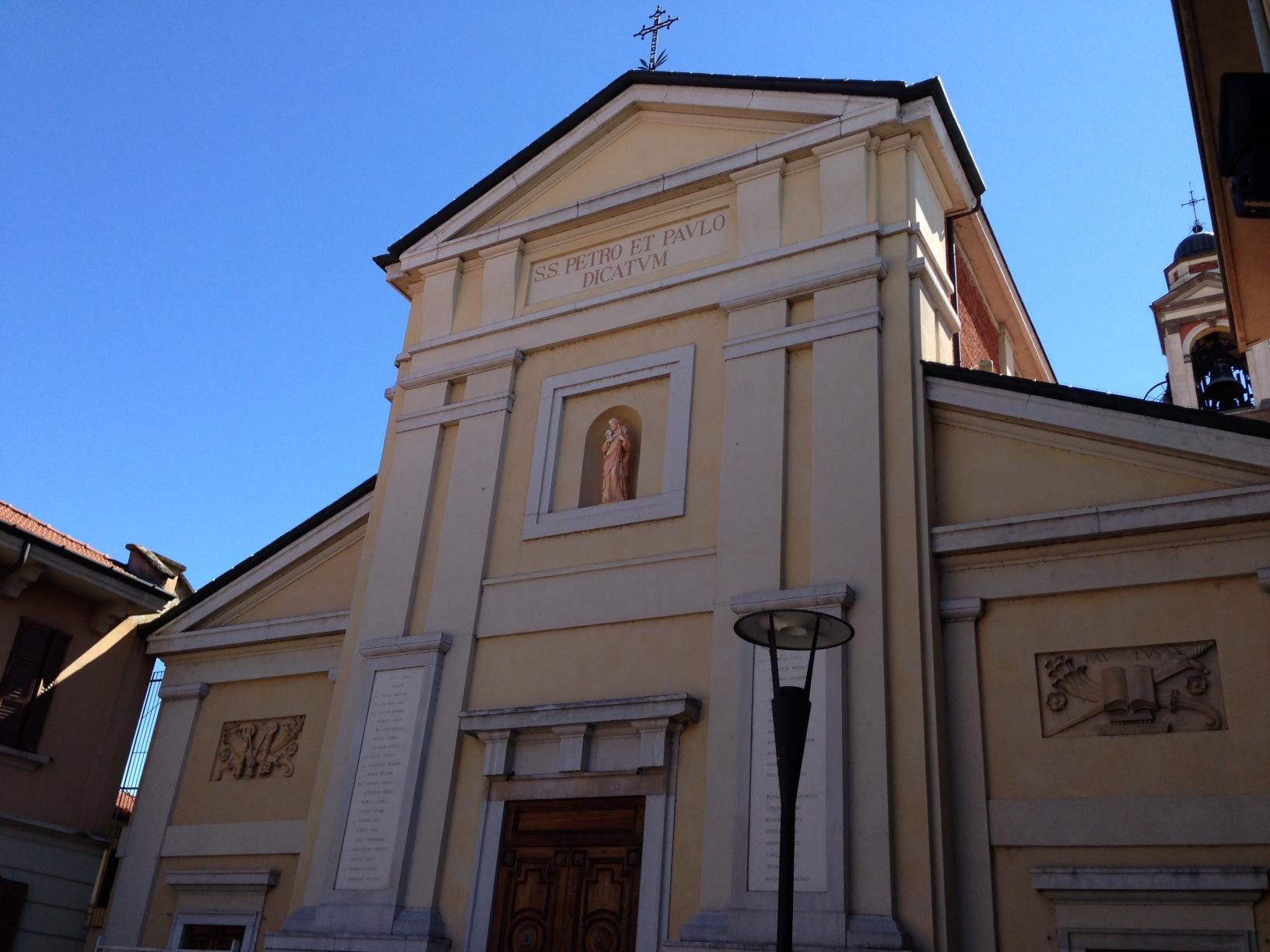 Chiesa Arese SS. Pietro e Paolo, Mi