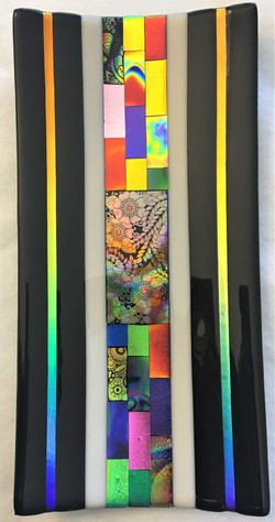"""Hanging or Tabletop Tray with Fibonacci Design (7""""X14"""") $175"""