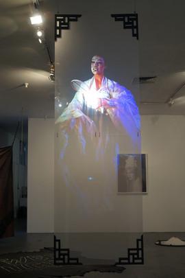 As She Floats (on Hologram)