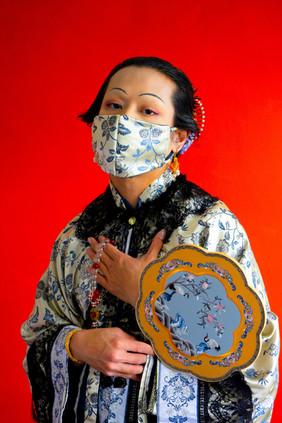Wearing a mask during The Third Bubonic Plague, No. 3