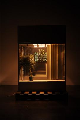 Doing Tax at Night on 72 Smith Street