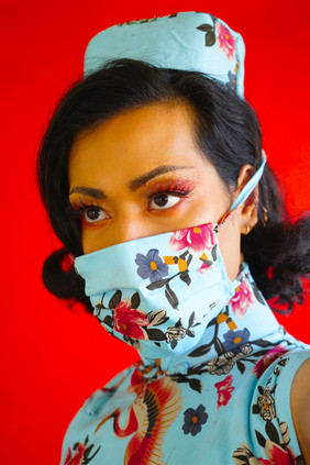 Wearing a mask was just an Asian hype, No.1