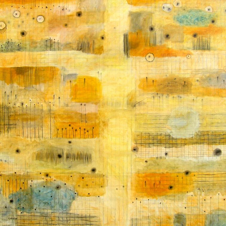 Yellow Grid II, 2004