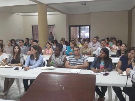 Capacitación en Derecho Marítimo, capítulo de La Ceiba
