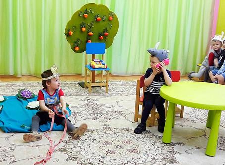 Популярные игры в детском саду