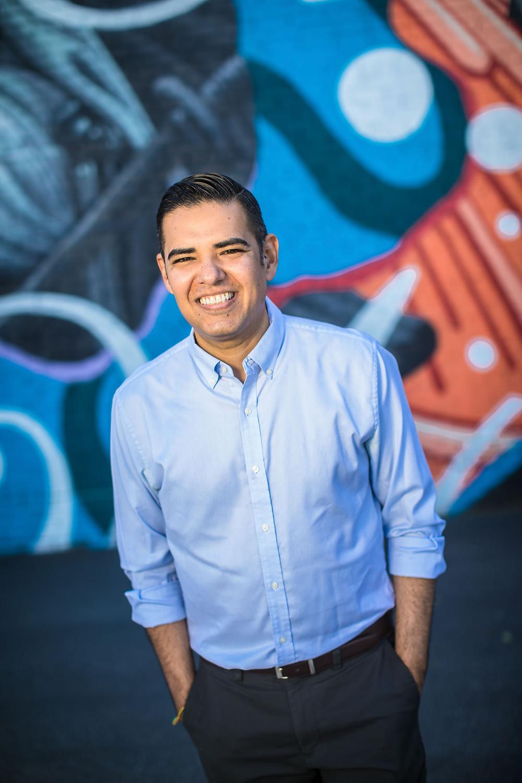 Campaign Image of Long Beach Mayor Robert Garcia