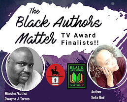Black Authors Matter TV Finalists