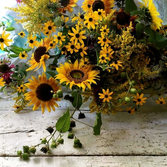 flowers in the barn.JPG