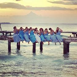 Beach wedding 💙  #mexico #mexicowedding #weddings #turquoise ##bliss #ocean #rusticwedding #nature