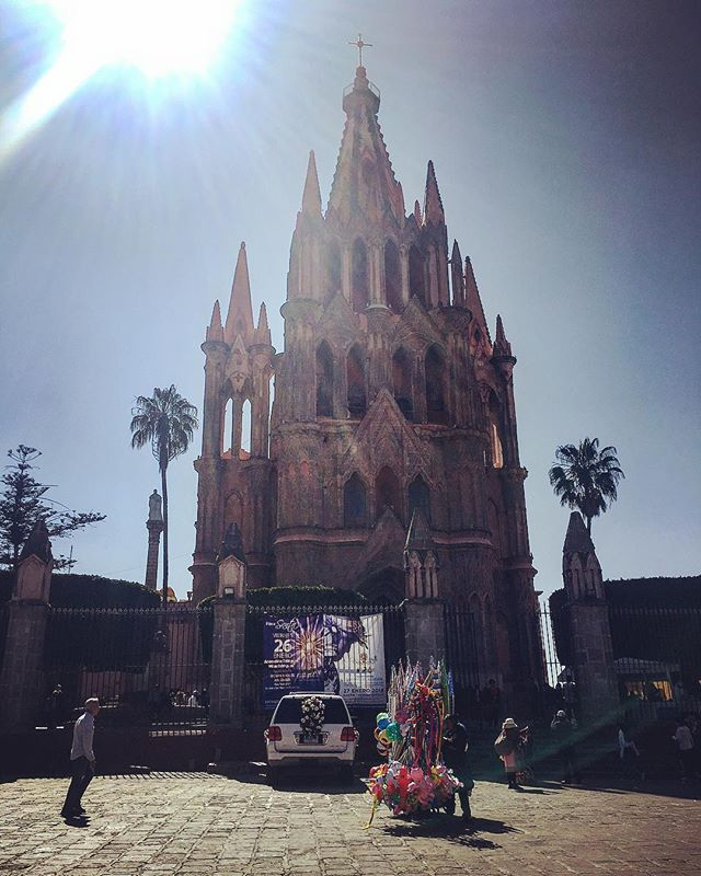 San Miguel de Allende. November 2018. Named THE best city in the WORLD by Travel & Leisure
