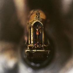 Though the keyhole