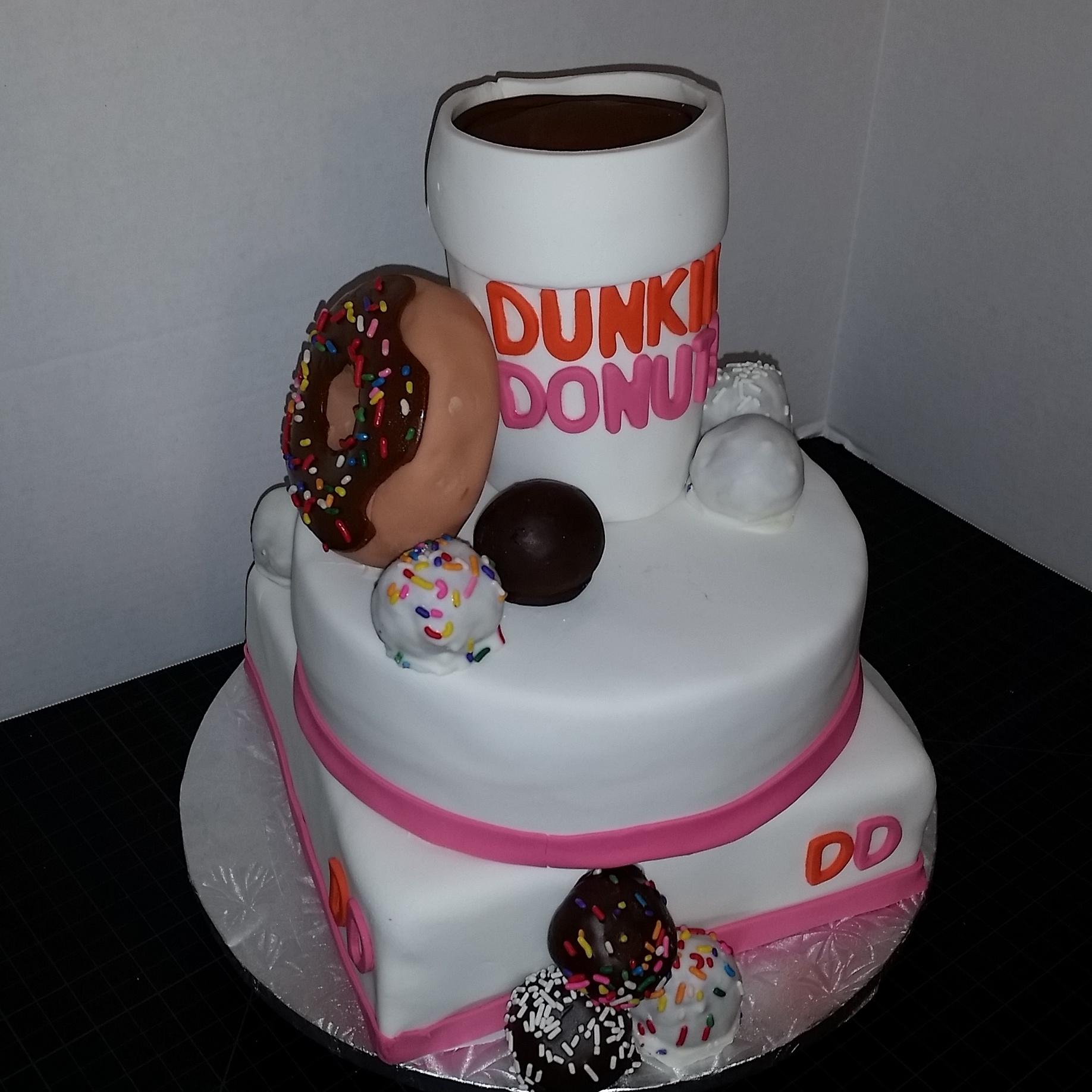 Dunkin Donuts Cake