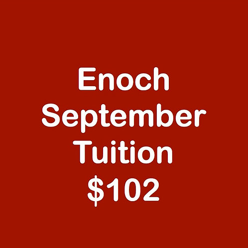 Enoch September Tuition