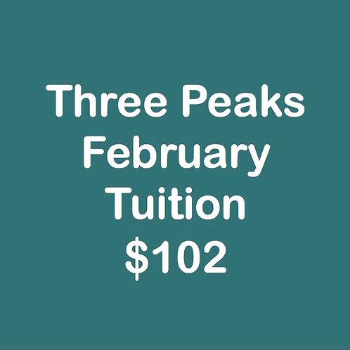 Three Peaks February Tuition
