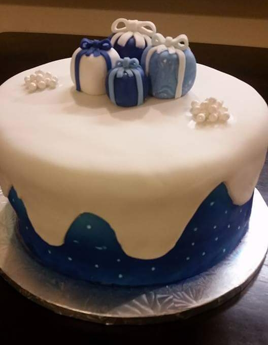 Winter Snow Cake