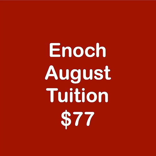 Enoch August Tuition
