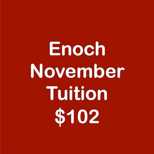 Enoch November Tuition