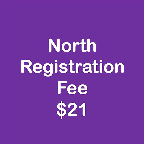 North Registration Fee