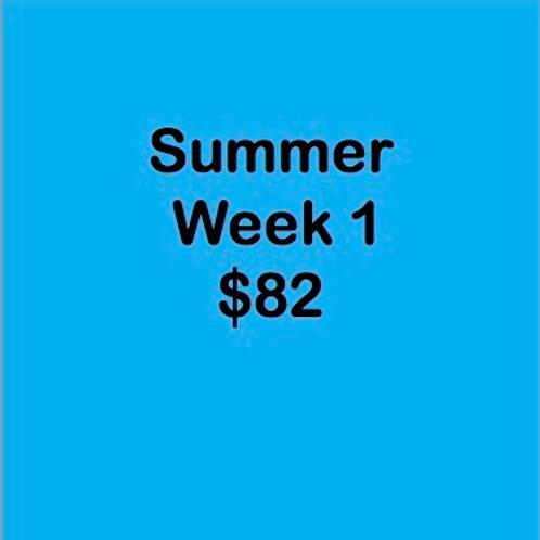 Summer Tuition Week 1 $82