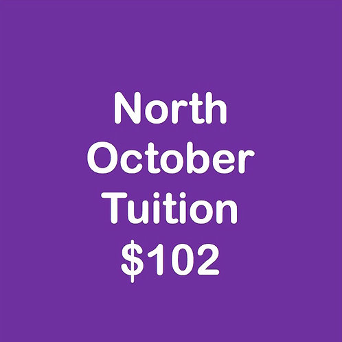 North October Tuition