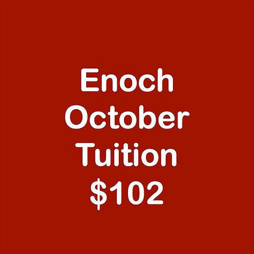 Enoch October Tuition