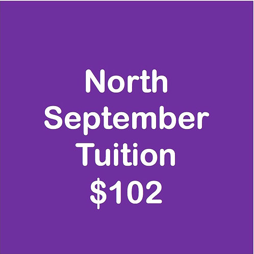 North September Tuition
