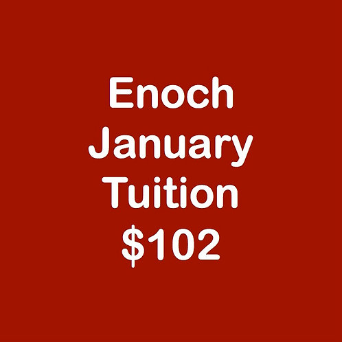 Enoch January Tuition