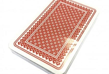Kaartspel Carlton 32 Kaarten Piket - Frans -Rood