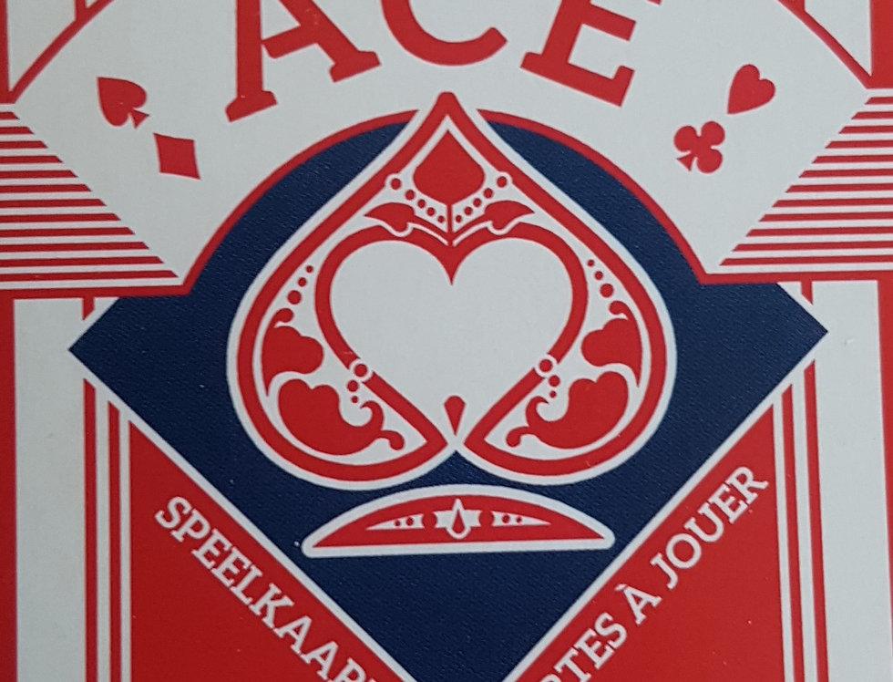 ACE - Printed by Cartamundi - Red Deck