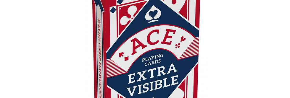 Kaartspel ACE Extra Visible Rood of Blauw