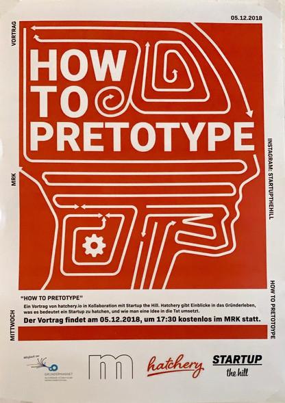 How to Pretotype: Poster
