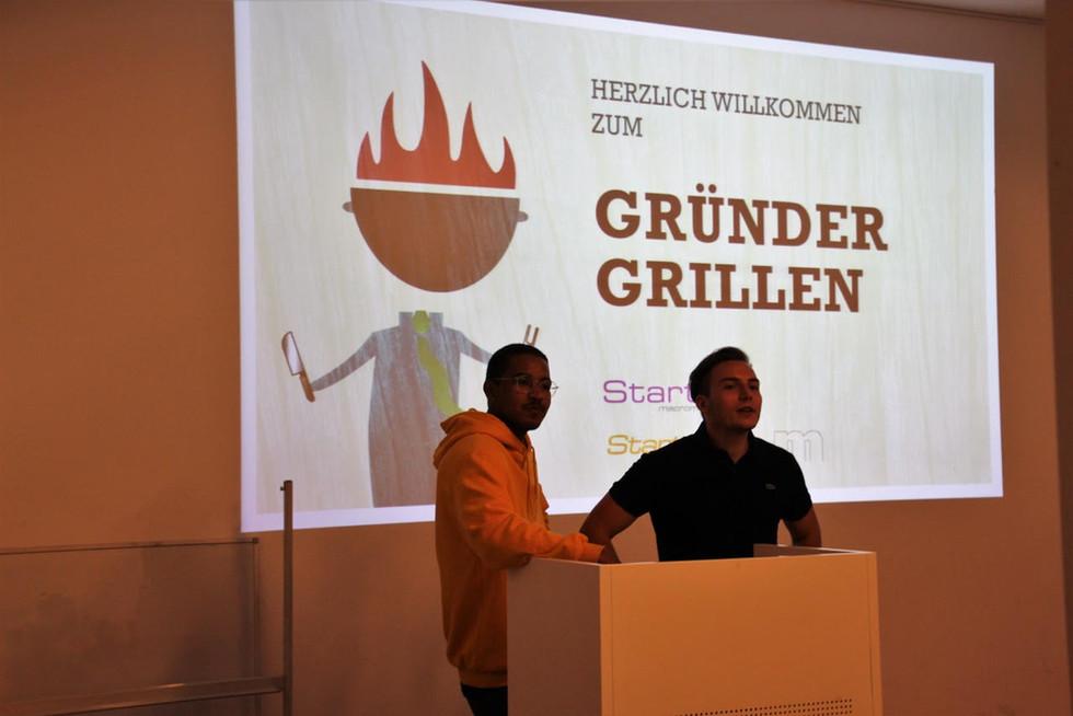 Gründer Grillen mit Startup Hohenheim