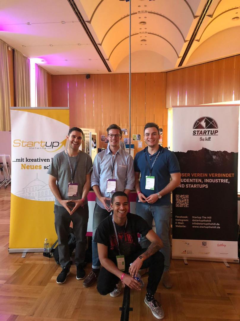 Innolution Valley: Das Team von Startup Hohenheim und Startup The Hill