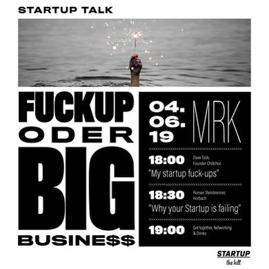 Fuckup oder Big Business: Poster