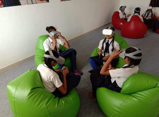 M. G. Patel Sainik School For Girls In Gujarat using XR for Immersive Education