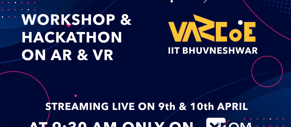 XROM to host WAVR 2021 - Workshop & Hackathon on AR & VR | VARCoE IIT