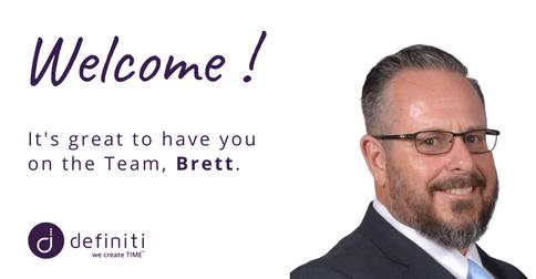 Welcome Brett!