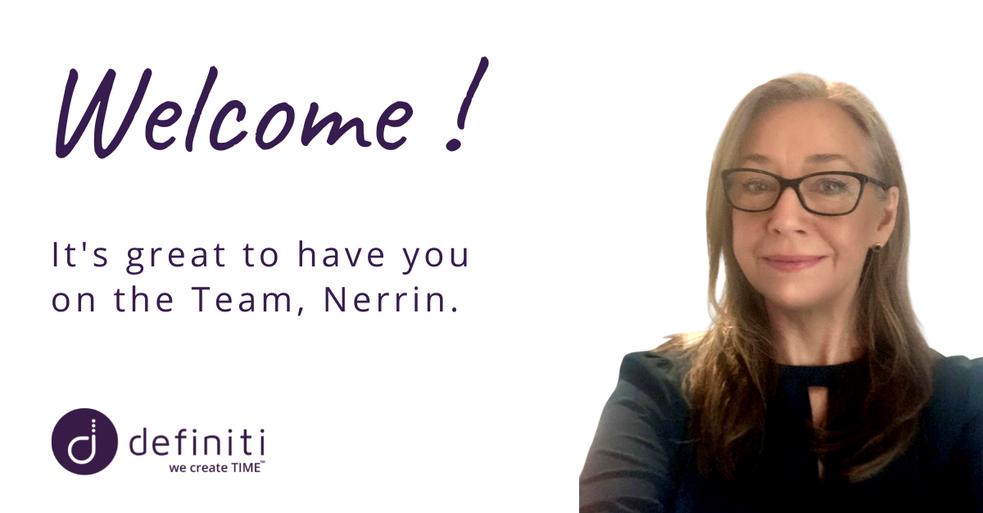 Welcome Nerrin!