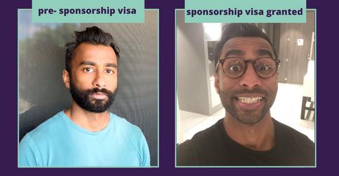 Kris' sponsorship visa granted