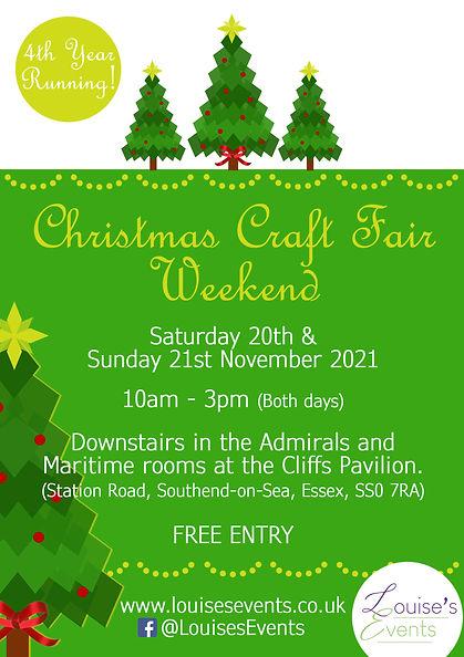 Christmas Craft Fair Weekend - A5 Leafle
