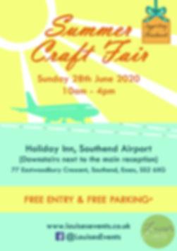 Leaflet - Summer Craft Fair