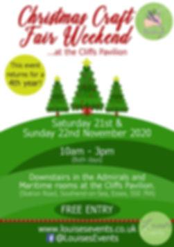 Christmas Craft Fair Weekend Leaflet
