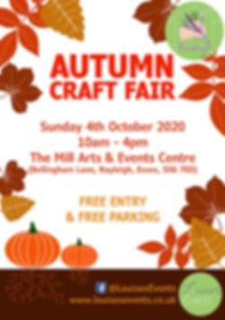 Leaflet - Autumn Craft Fair