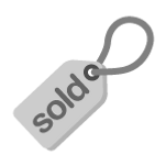 Серый Продано Tag